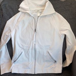 Ann Taylor Loft Cotton Zip Up